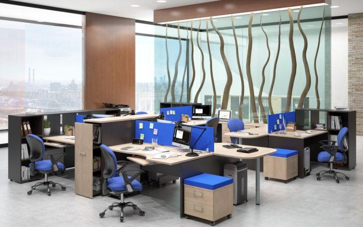 5 Ergonomiškų biuro baldų privalumai